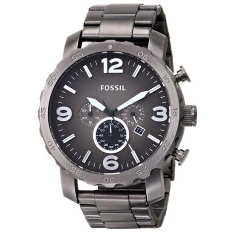 Jam Tangan Fossil Jr 1437 jual jam tangan fossil jr1437 nate chronograph