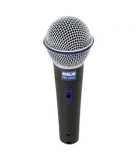 Microphone Huper Pro 1 Original ahuja microphone performance series pro 2200sc buy ahuja microphone performance series pro