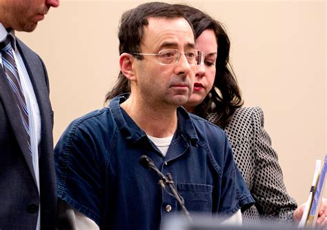 larry nassar larry nassar sentenced to 40 to 175 years in sexual abuse