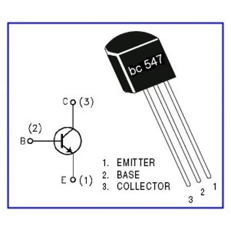 bc547 npn transistor