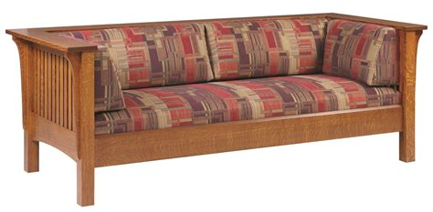 Prairie Style Sofa by Mission Prairie Sofa From Dutchcrafters Amish Furniture