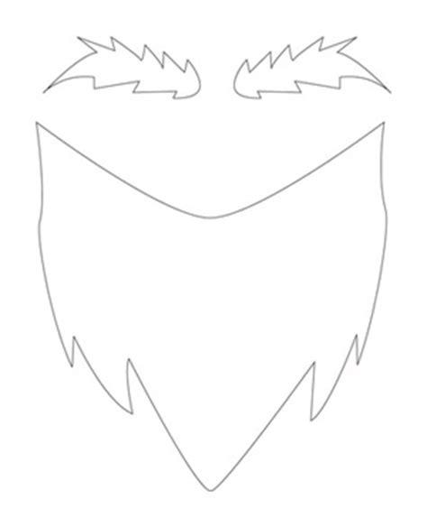 goatee template gnome beard template best beard 2017