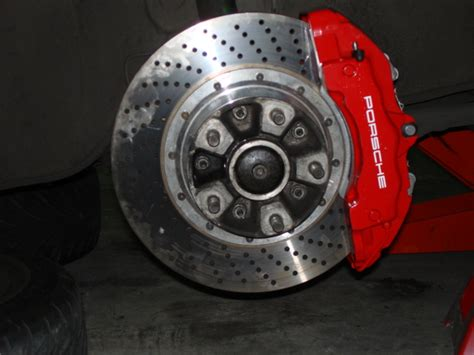 porsche 930 turbo big brake kit w cayenne turbo caliper ebay