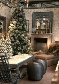 Grey Decor 70 Stylish Christmas D 233 Cor Ideas In Grey Color And French
