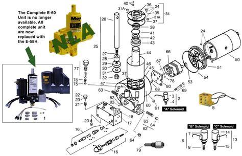 meyer e60 e60h parts mill supply inc