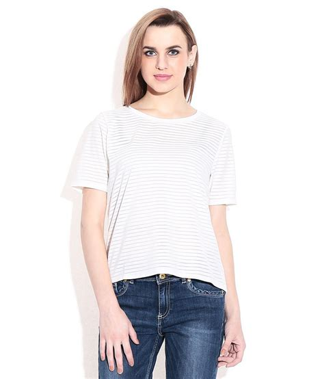 Tshirt The Ghost Inside N C Baam buy vero moda ghostwhite t shirt at best prices in