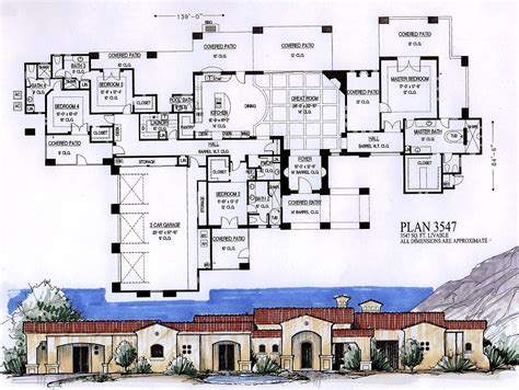 floor plans for 4000 sq ft house 4000 sq feet house plans 2017 house plans and home