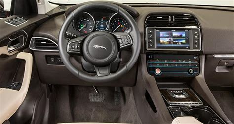 jaguar jeep inside 2017 jaguar f pace suv proves luxurious and sporty