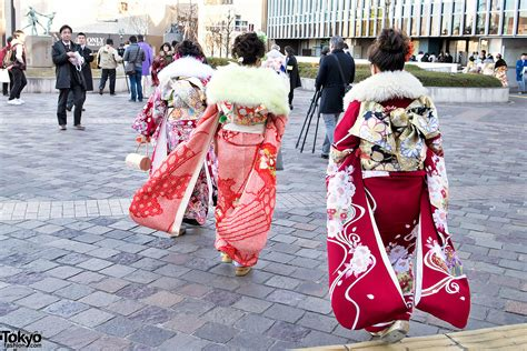 coming of age coming of age day in japan 2015 kimono pictures