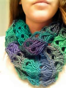 Broomstick Lace Infinity Scarf Broomstick Lace Infinity Scarf B Hooked Crochet