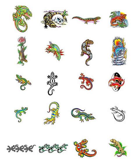 gecko tattoos designs lizard tattoos fullbody tattoos