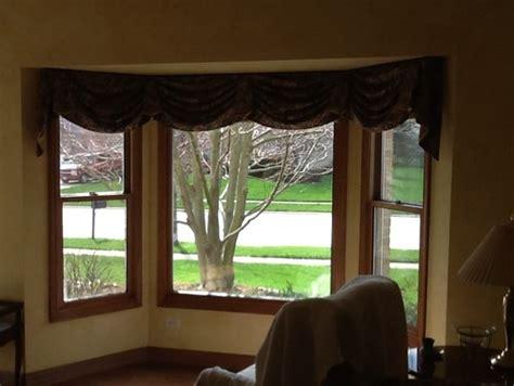 how to dress windows window treatments for boxy bay windows help