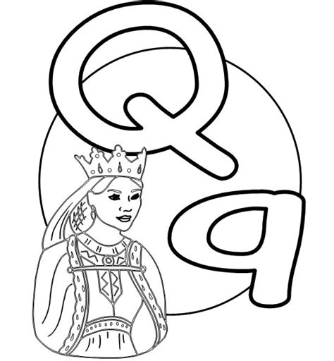 printable letter q pictures free coloring pages of letter qq