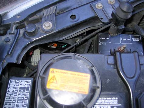 2002 nissan maxima hid bulb how to replace the hid bulbs in the nissan maxima