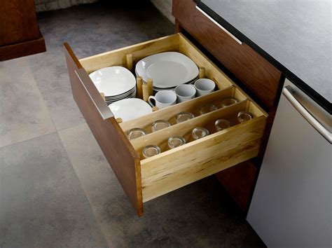 Kitchen Cabinet Plate Organizers by Drawer Plate Storage Traditional Kitchen Minneapolis