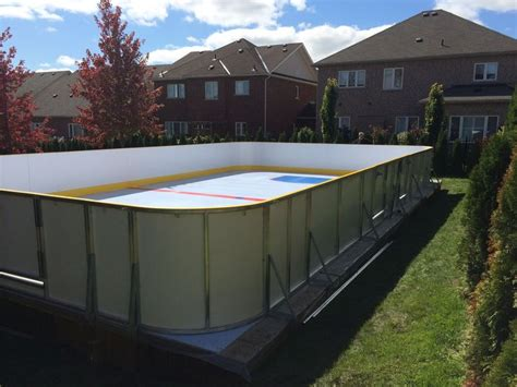 backyard synthetic ice rink 22 best backyard synthetic ice rink projects images on