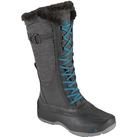 northface womans boots the shellista lace luxe boot s
