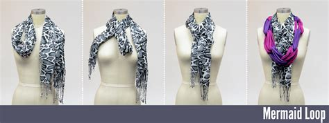 4 ways to tie a sailor inspired scarf knot
