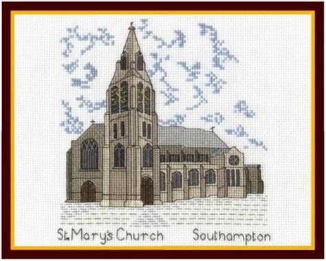 A Frame Kit Home Historic Wessex Series St Mary S Church Southampton