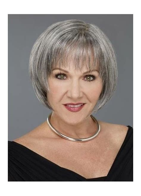 haircuts for thin gray hair over 50 grey bob for old women short bob wigs for white women