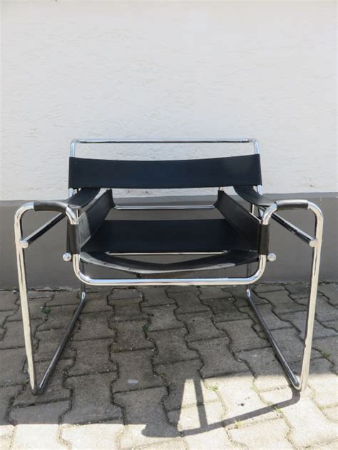 bauhaus outdoor möbel sessel wassily knoll international wassily sessel