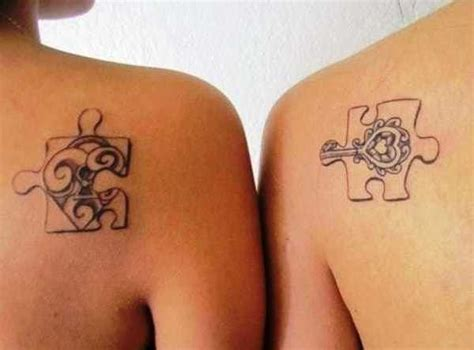 puzzle piece tattoo for couples puzzle piece tattoos pinterest