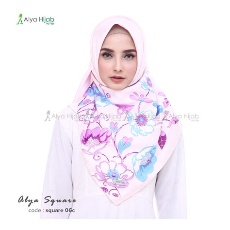Jilbab Maxmara Square Maxmara Daun jilbab segiempat terbaru alya square alya by