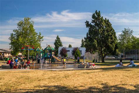in park highland park playground parks seattle gov