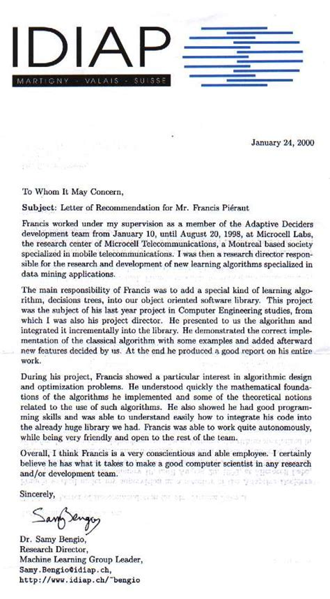 english recommendation letter good cover letter examples - Good Cover Letter Example