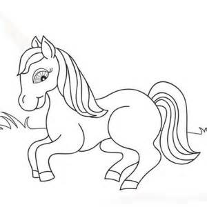 mom and baby horse coloring pages coloring pages - Mom Baby Horse Coloring Pages