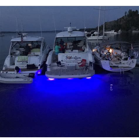 boat underwater lights red led underwater boat lights the ultimate in lighting