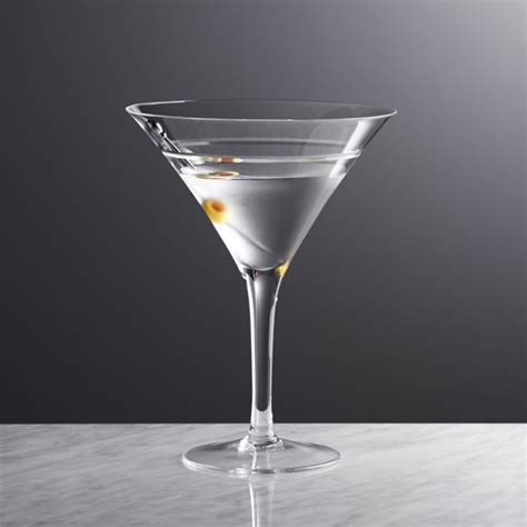 martini glass callaway martini glass reviews crate and barrel