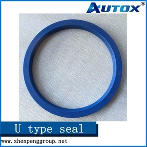 seal blue color blue color hallite 605 46108 hydraulic rod buffer seals pu