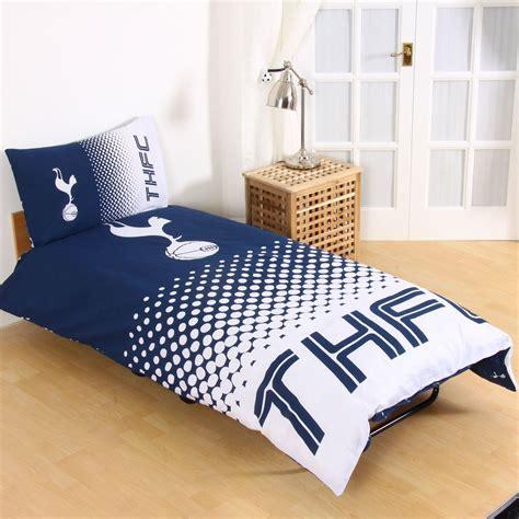 spurs bedding and curtains tottenham hotspur single duvet cover fade design