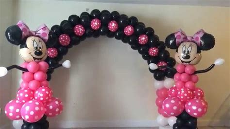 Minnie Mouse Balloon Decoration by Balloon Decorations Houston