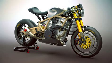 Ktm Cafe Racer Racing Caf 232 Caf 232 Racer Concepts Ktm 1190 Rc8 3d By