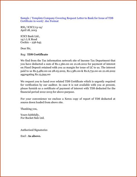 request letter for certification of payment request letter format articleezinedirectory
