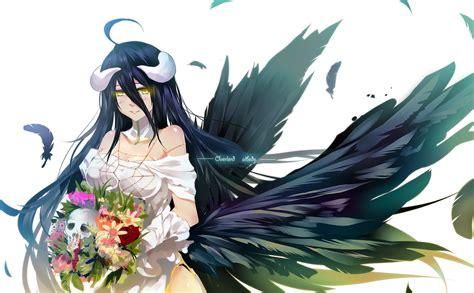 anime artwork anime anime artwork overlord anime albedo
