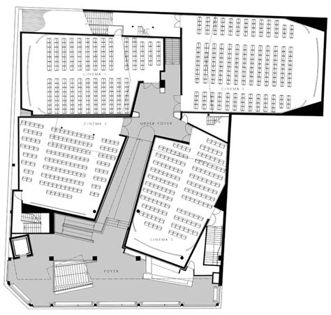 Commercial Complex Floor Plan Verona Cinemas Tonkin Zulaikha Greer Architects