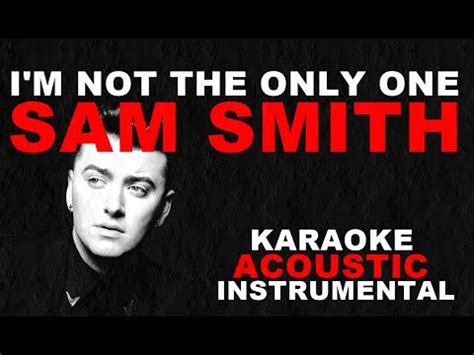 i m not the only one sam smith guitar tutorial i m not the only one sam smith acoustic guitar karaoke