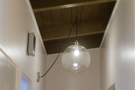 Ceiling Light Without Electrical Wiring by How To Swag A Pendant Light Without A Chain Work About House