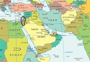 middle east map gaza p stands for palestine where in the world is