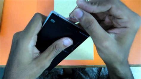 Cassing Xiaomi Redmi how to insert sim card in xiaomi mi3