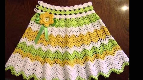 faldas de crochet para nina ideas de falda circular tejida a crochet youtube