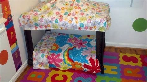 Pack N Play Bedding Sets I Got This Idea To Repurpose An Pack N Play From Another Pin So I Gave It A Try I Used A