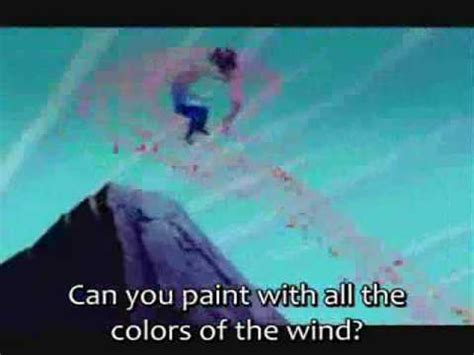 colors of the wind subs