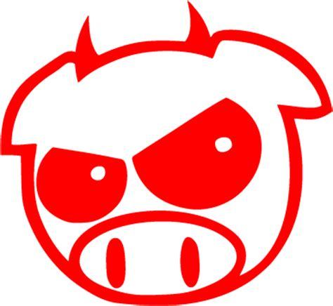 Jdm Sticker Angry Pig jdm angry pig vinyl sticker 163 1 99 blunt one