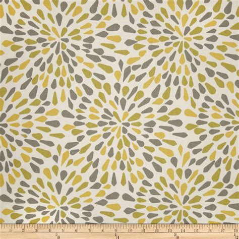 Robert Allen Upholstery Fabrics by Robert Allen Home Crypton Many Petals Zest Discount Designer Fabric Fabric