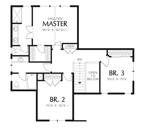 chittenden 6398 3 bedrooms and 2 baths the house designers