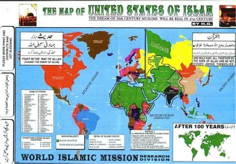strange maps an strange maps of the world and usa world islam map
